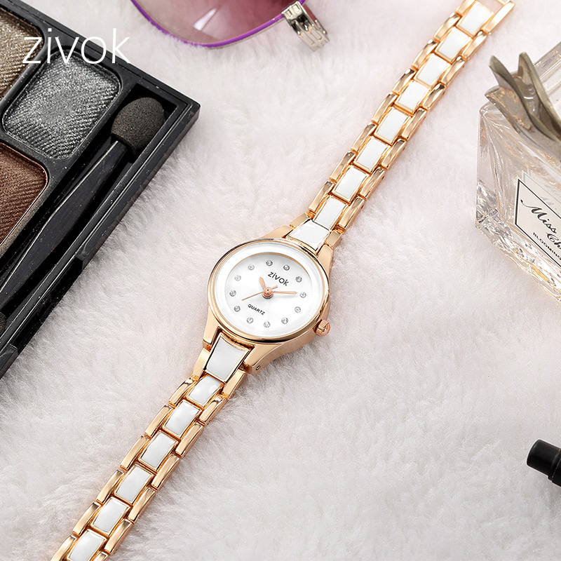 zivok Fashion Women Watches Relogio Feminino Top Brand Luxury Lovers Quartz Wrist Watches Clock Women Girl Watch Bayan Kol Saati rigardu fashion female wrist watch lovers gift leather band alloy case wristwatch women lady quartz watch relogio feminino 25