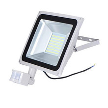 PIR Infrared Motion Sensor LED Flood Light 10w 20w 30w 50w 220V 110V SMD 5730 Reflector LED Lamp Floodlight For Outdoor Lighting