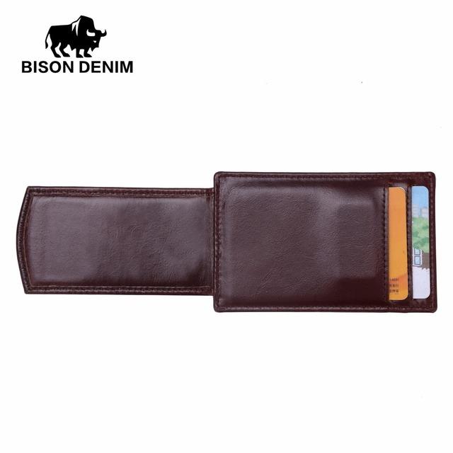 Clip Leather Men Wallet