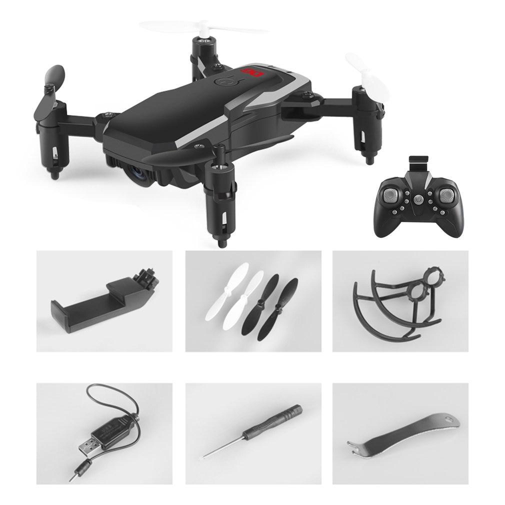 DG186 Mini RC 2.4G cpliable FPV RC quadrirotor Drone avion avec 0,3mp caméra Altitude maintien une clé retour Mode sans tête