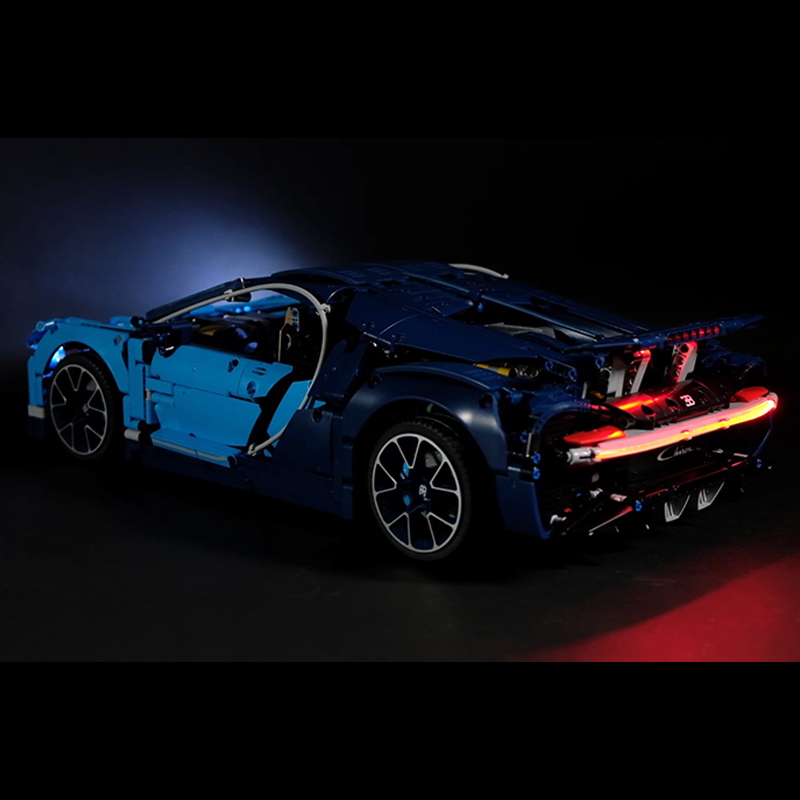 Led Light For <font><b>Lego</b></font> Technic <font><b>42083</b></font> The Bugatti Chiron Racing Car creator Building Blocks Toys Christmas gifts (led only) image