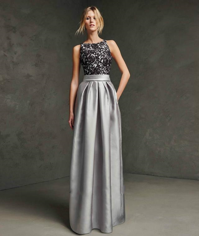 gray dresses for weddings. evening dress 2017 toast the new suit shoulders smoke gray fashion wedding banquet dinner long gown-in dresses from weddings \u0026 events on for e