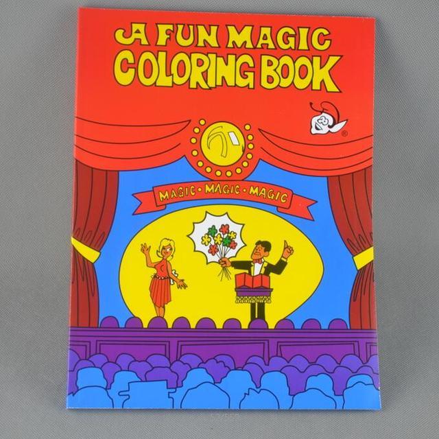 Un divertido libro mágico para colorear tamaño pequeño (14 cm * 10.5 ...