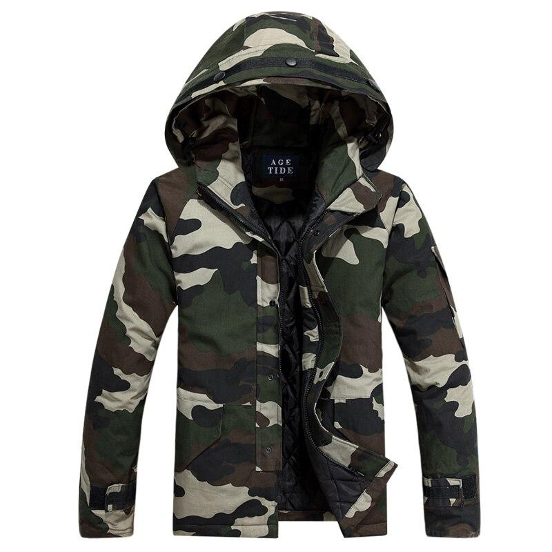 2016 kış yeni Erkek ince pamuk kalın sıcak moda kamuflaj eğlence ceket/Erkek butik kamuflaj kapüşonlu ceket ceket Erkekler