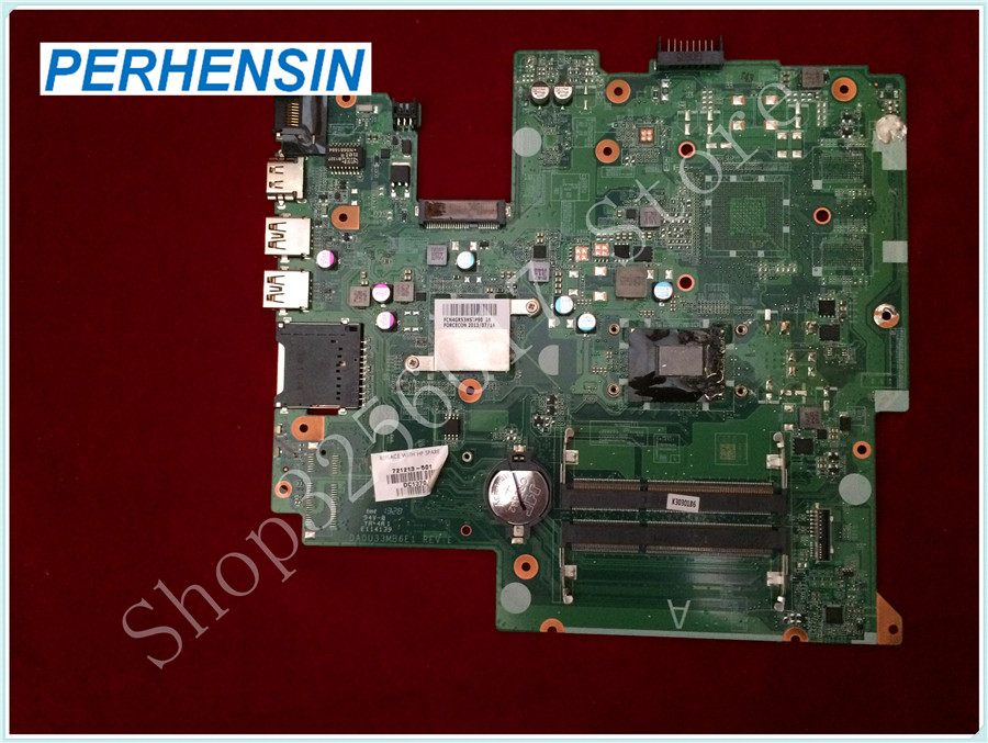 For HP For Pavilion Sleekbook 14-B124US 14-b150us laptop MOTHERBOARD 721213-501 Hm77 i3-3227u Integrated 100% tested good 744008 001 744008 601 744008 501 for hp laptop motherboard 640 g1 650 g1 motherboard 100% tested 60 days warranty