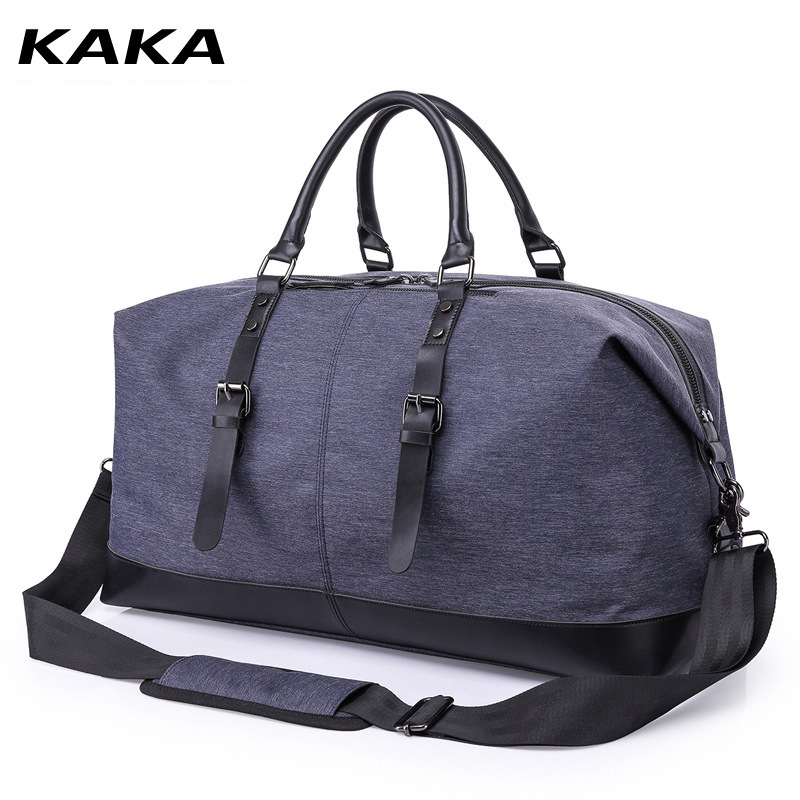 KAKA Brand Travel Bag Men's Fashion Trend Personality Handbag Large Capacity Short Trip Travel Single Shoulder Messenger Bag