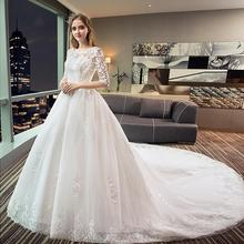 kejiadian 2019 Wedding Dresses ball gown train bridal gown