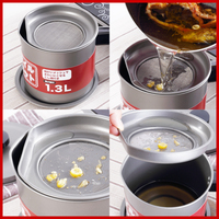 kitchen pot leakproof with screen large stainless steel pot irrigation oil storage tank