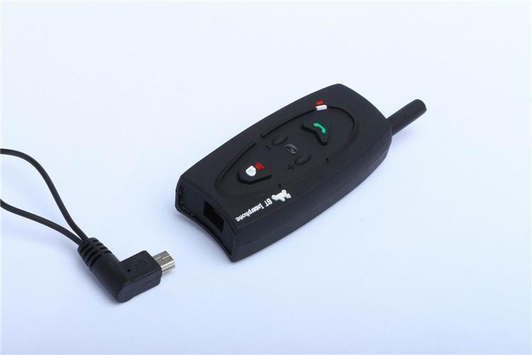 500M Wireless Bluetooth Motorcycle Helmet Intercom for 2 Riders Interphone Earphone Headset 1PcsSet (10)