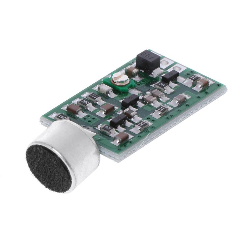 0,7-9 V 88 Mhz-108 Mhz Sender Modul Mini Bug Wiretap Dictagraph Abfangjäger Mic V4.0 Core Board