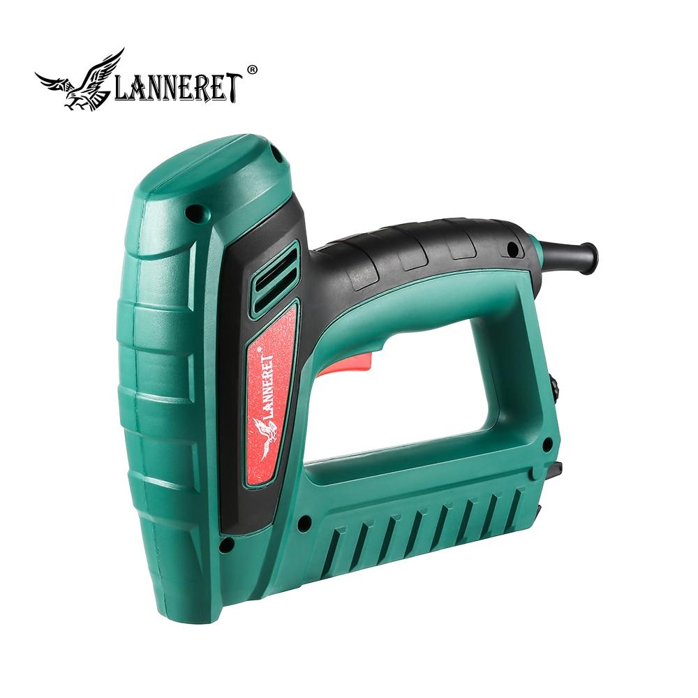 New 5A 2 In 1 Electric Staple Gun Nail Tacker Upholstery Stapler Staples Nailer