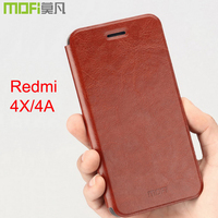 Redmi 4X Case Flip Cover 16gb Xiaomi Redmi4X Back Leather Funda 5 0 Xiomi Redmi X4