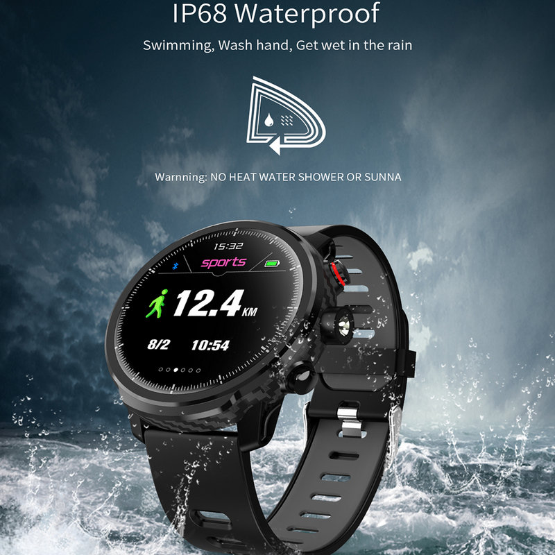Image 4 - 2020 Hot Smart Watch IP68 Waterproof Men Smart Watch Bluetooth 