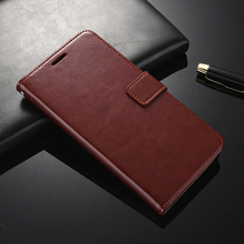 Genuine Leather Wallet Cover Case for Huawei Honor 6X Shell Card Slot Stand Coque Flip