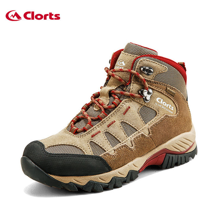 New Leather Breathable Outdoor Non Slip Climbing Mountaineering Shoes, Men Wear Waterproof High To Help Climbing Shoe high quality l30 magneto angular contact ball bearing 30 62 16mm separate permanent magnet motor abec3