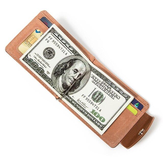 Lefur Men's PU Leather Wallet Card Holder 3