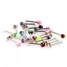 10pcs/lot  Ring Lip Piercing Ear Cartilage Earrings Ombligo Body Jewelry