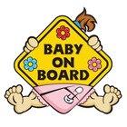 1pcs Baby on Board W...