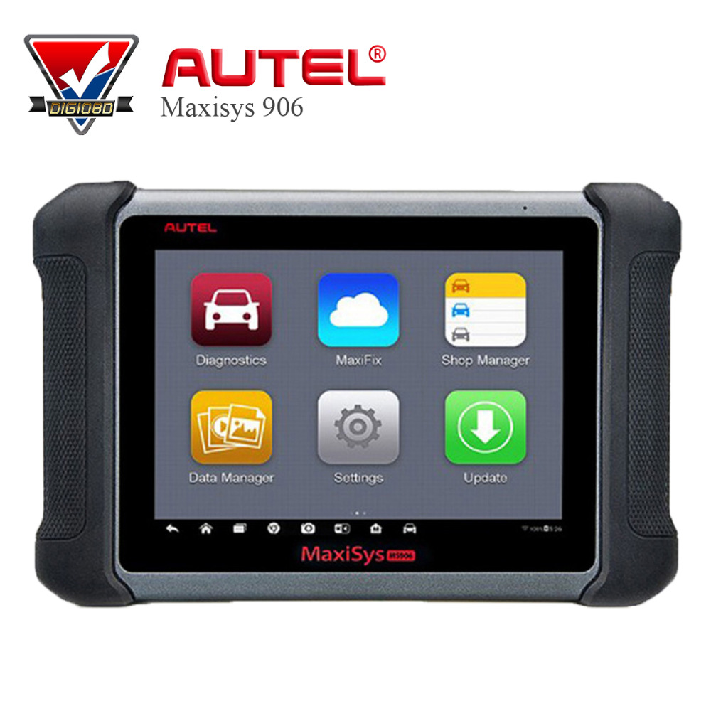 AUTEL MaxiSYS MS906 Professional Auto Scanner Diagnostic Tool ABS/SRS/SAS/EPB/DPF/Oil Reset Free Update Online VS DS808