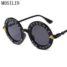 Date De Mode Ronde lunettes de Soleil Femmes Marque Designer Vintage  Gradient Shades Lunettes de Soleil UV400 Oculos Feminino Le. 3af244523346