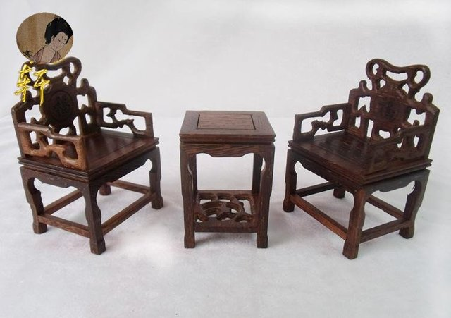 unique gift Rare chinese old antique  mini Ming and Qing furniture /China ancient times zyx0504