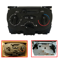 High Quality Car Air AC Heater Panel Climate Control Switch for Peu geot 206 207 307 C2 for Ci troen Picasso 9624675377 X666633H