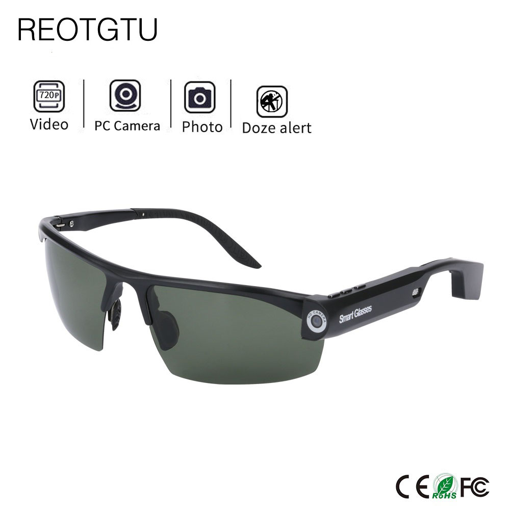 ef36a8ef9e4 HD Sunglasses Sport Outdoor Camera Glasses Sports DV Smart Glasses Mini  Camcorders Glasses Build-in