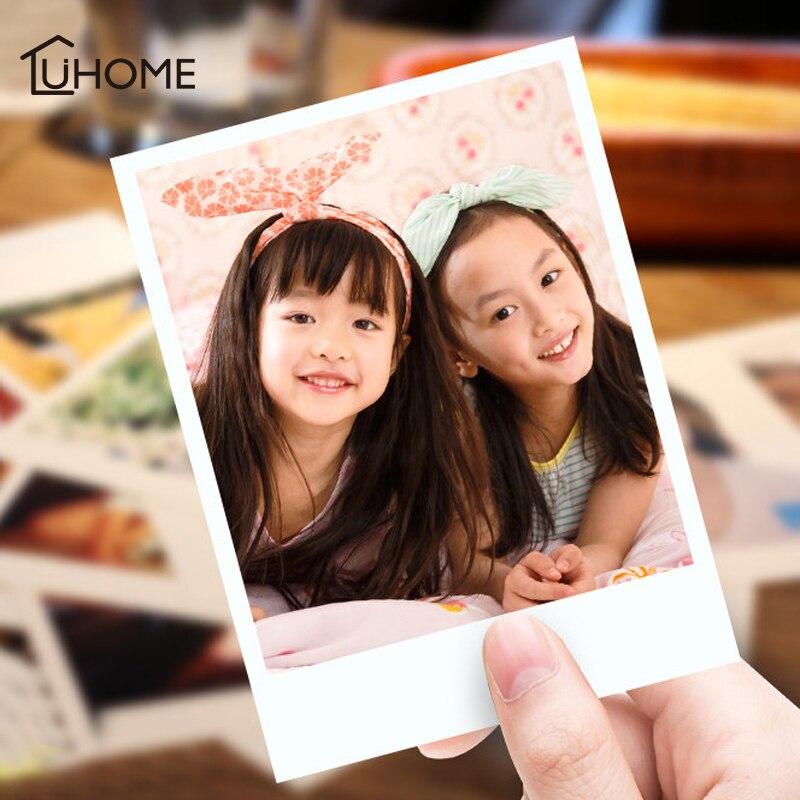 30/50 шт HD печать фото на заказ квадратное изображение для ребенка, для влюбленных, для свадьбы, подарок для родителей, Polaroid фото печать, украшение для дома, вечеринки Украшения своими руками для вечеринки      АлиЭкспресс