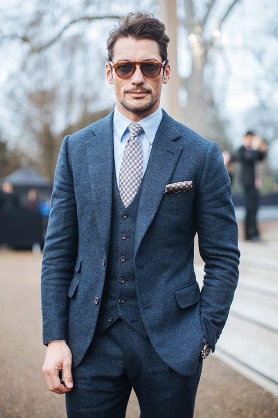 Online Get Cheap Navy Tweed Suit -Aliexpress.com | Alibaba Group