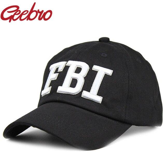 Geebro fashion keren polisi fbi snapback caps baseball topi untuk pria    Wanita Merek Unisex Army 585ab59a6d