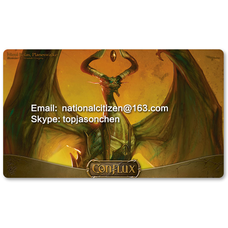 Many Playmat Choices - nicol bolas planeswalker - MTG Board Game Mat Table Mat for Magical Mouse Mat the Gathering image