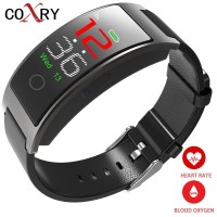 COXRY Heart Rate Smart Watch Men Sport Digital Watch Women Stopwatch Waterproof Wrist Watch Blood Pressure Pedometer Smartwatch