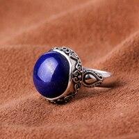Silk Princess Silver 925 Silver Vintage Silver Lapis Ring natural crystal midsummer dream