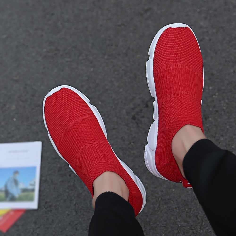 KLV 男性スニーカー男性ランニングシューズジムスニーカースポーツ靴夏女性スニーカー通気性 zapatos デ hombre #2