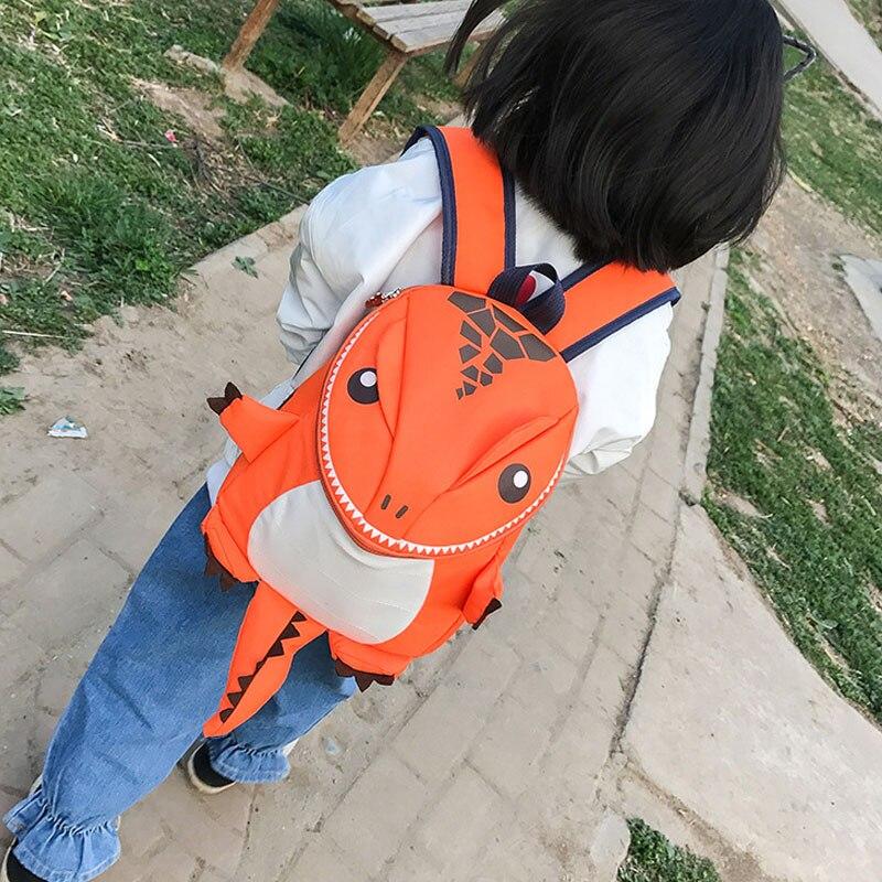 Kids Backpack Bagpack 3D Cartoon Dinosaur School Bags Backpacks For Kindergarten Boys Girls Schoolbag Baby Children Back Pack