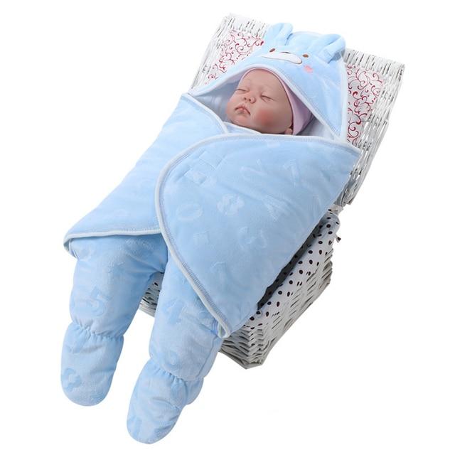 Baby Sleep Sack Winter Sleeping Bag Indoor Outdoor Cotton Stroller With Sleeves