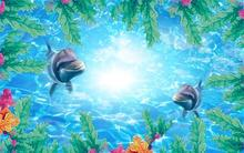 3d wallpaper Child theme Mermaid background