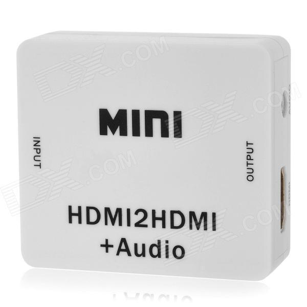 HDMI Decoder Cracking to Remove HDCP Protocol Digital to Analog Converter Audio Separator