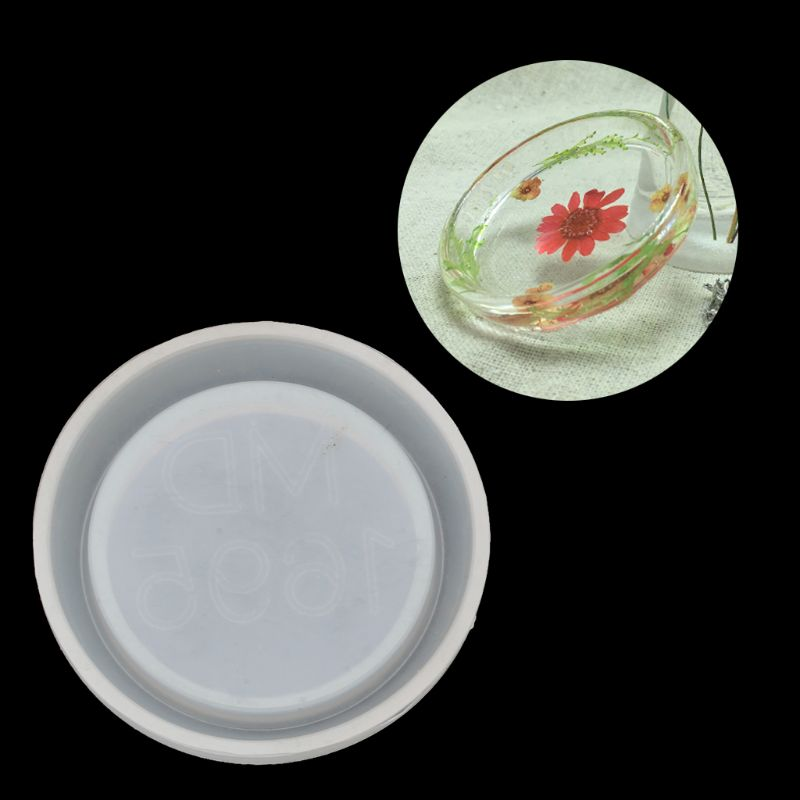 Small Round Dish Tableware Resin Casting Mold Handmade Silicone Mold Art Craft