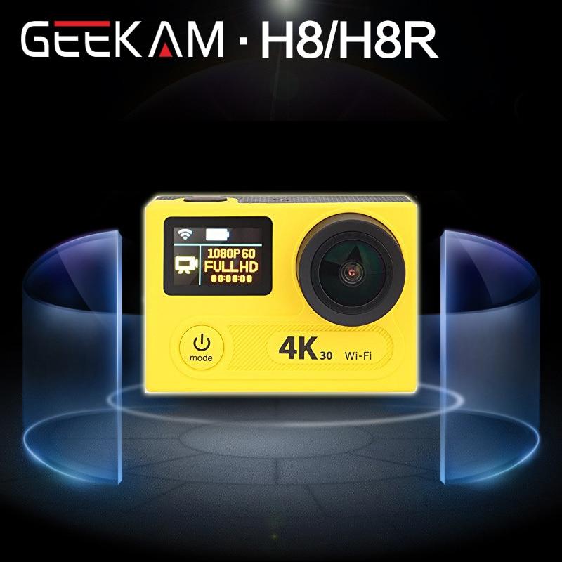 GEEKAM Ultra HD 4K WIFI Sport Action font b Camera b font 360VR H8R H8 1080P