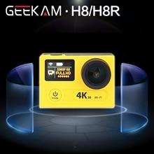 "GEEKAM Ultra HD 4 K WIFI Deporte Cámara de Acción 360VR H8R H8 1080 P Dual 2 ""LCD 170D gran angular Casco Cam MINI Videocámara A Prueba de agua"
