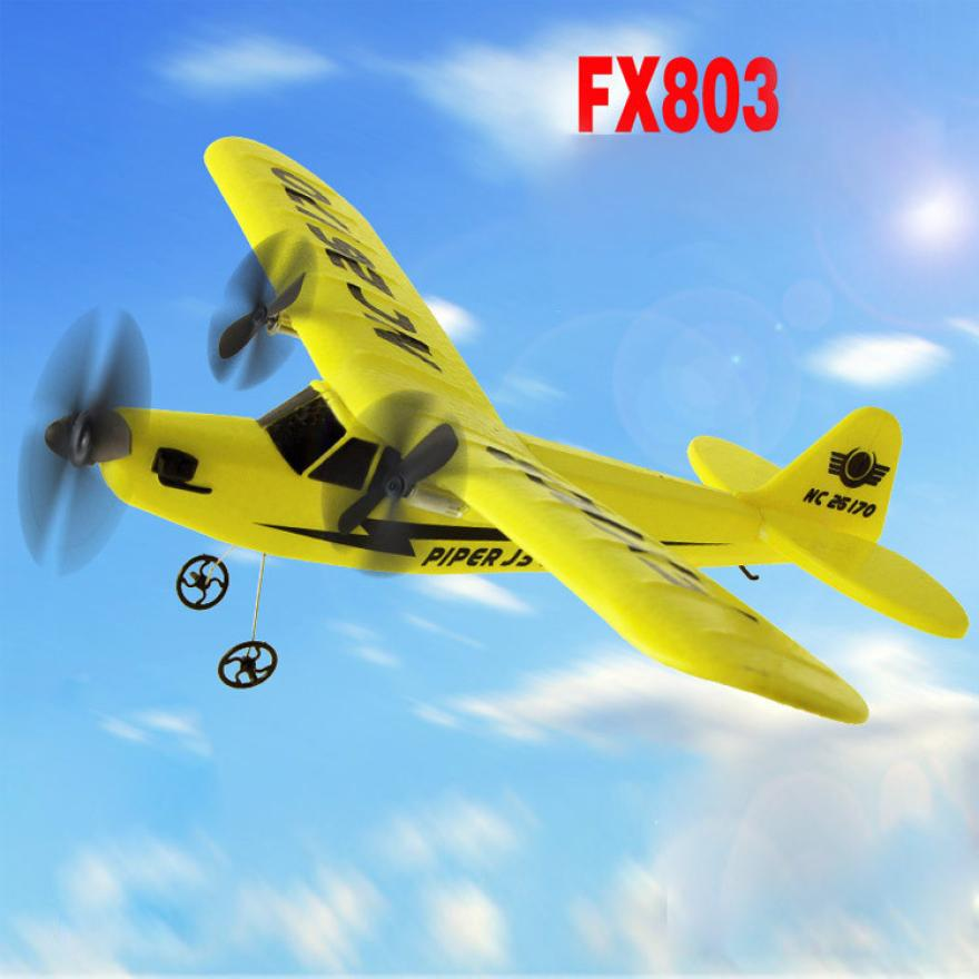 Remote Control RC Plane Glider Airplane EPP foam 2CH 2 4G Toys gift t15