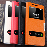 New Original Famous Brand For 2016 Samsung GALAXY A5 A5100 Real Genuine Leather Case Phone Cover