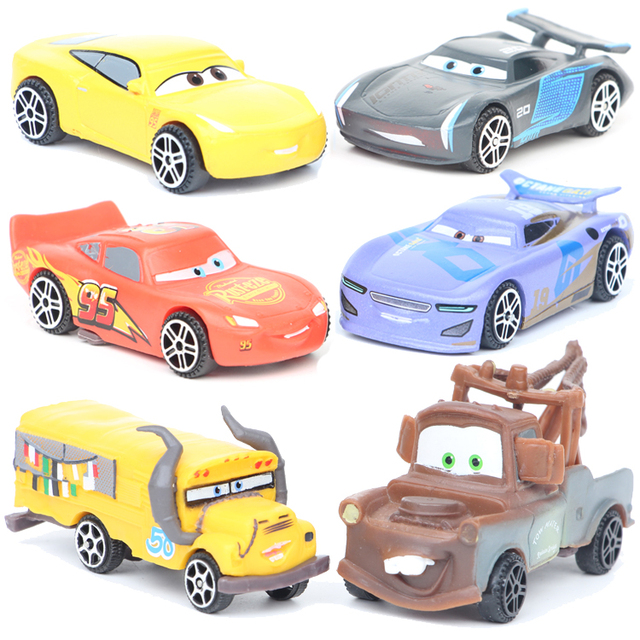 Disney Pixar Cars 3 6pcs/Lot 7cm