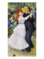 oil reproductions of famous Pierre Auguste Renoir paintings Dance at Bougival Hand painted High quality