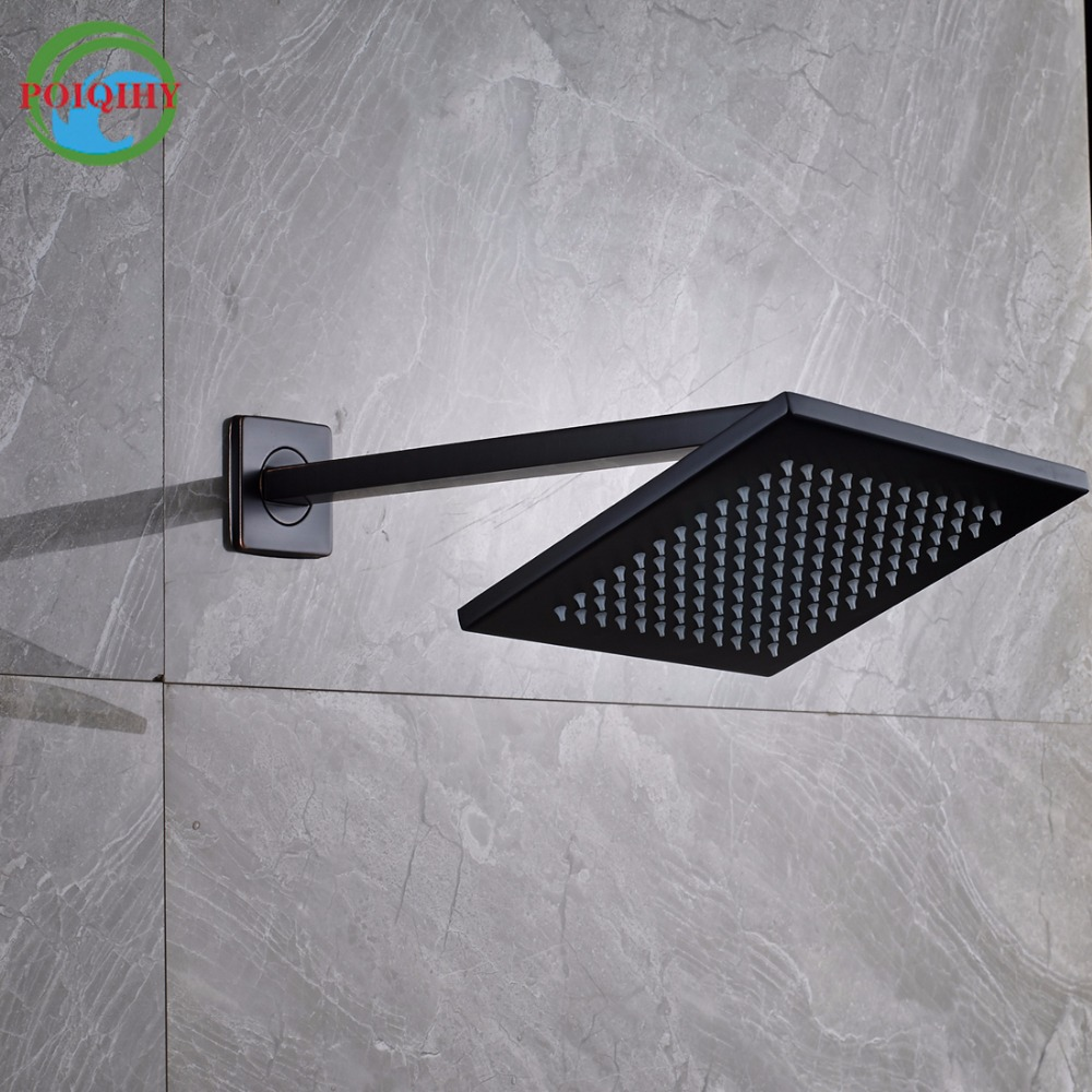 8 inch rainfall oil rubbed bronze shower head bathroom square shower headchina mainland
