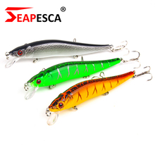 SEAPESCA 6 Colours Sinking Floating Minnow Fishing Lure 120mm 13.2g Lifelike 3D Eyes Swimming Exhausting Baits Pesca Deal with YA81