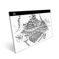 Ultra thin Portable USB Powered A3 LED Drawing Board Stencil 3 Gear Dimming Artist Painting Drawing Copyboard