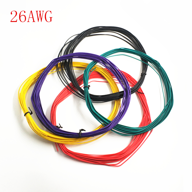 10 Meters/lot UL 1007 Wire 26AWG 1.3mm PVC Wire Electronic Cable UL Certification Insulated LED Cable For DIY Connect 8 Color fisma certification page 8