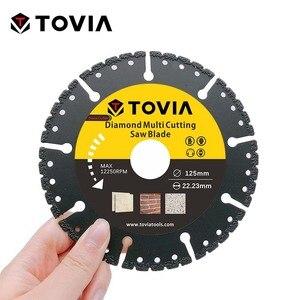 Image 3 - TOVIA 125mm Diamond Circular Saw blade Multi Cutting Universal Disc Multipurpose Angle Grinder Saw Disc Power Tool Accessories